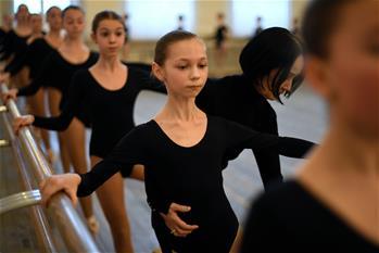 走進莫伊謝耶夫舞蹈學校