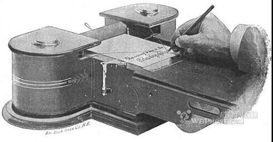 电报传真机