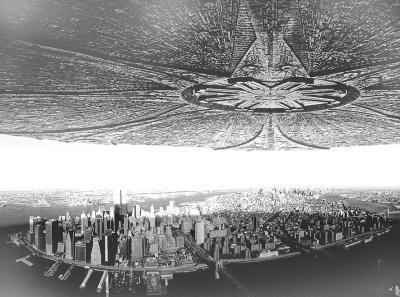 资料图片-美国UFO博物馆探秘 展 外星人僵尸 仿制品