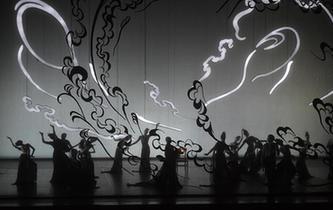 中芭大型原创芭蕾舞剧《敦煌》首演