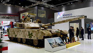 In pics: China Defense NORINCO exhibition area at IDEX in Abu Dhabi