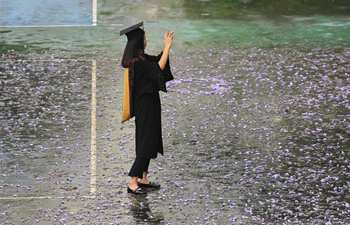 Time to say goodbye: Graduates take photos in southwest China