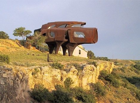全球最怪異最創新的18座房屋 八角形可360度旋轉
