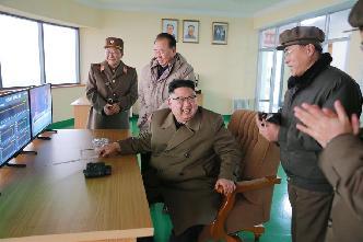 朝鮮進行新型大功率火箭發動機地上點火試驗