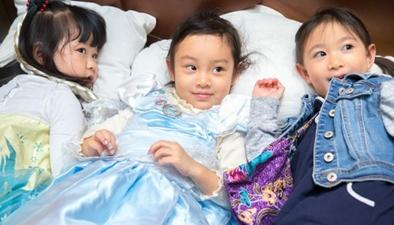 甜馨4歲生日扮公主甜美可愛