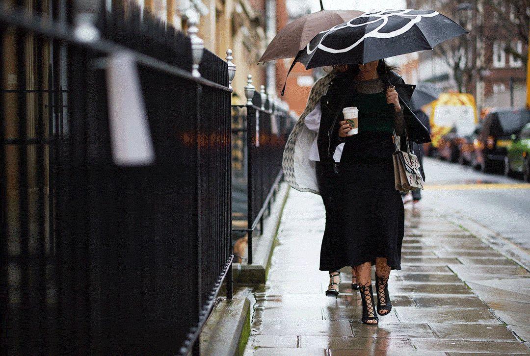 倫敦時裝周秀場外的街頭時尚