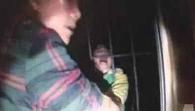 小女孩5樓窗臺墜落 4樓父子倆伸手抓住