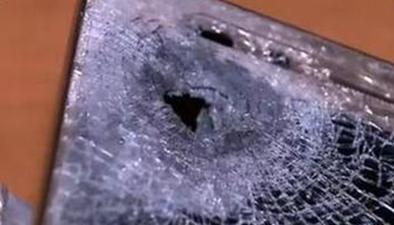 中國制造手機又擋子彈 智利男子腹部中槍僅受輕傷