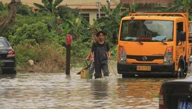 中央氣象臺發暴雨藍色預警 八省份局部有大到暴雨