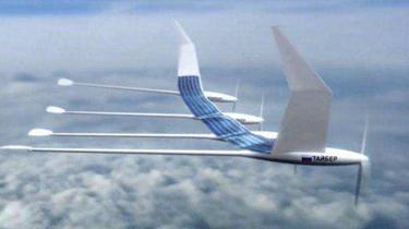 大型太陽能無人機完成萬米高空飛行