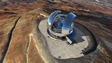 全球最大光學望遠鏡在智利開建