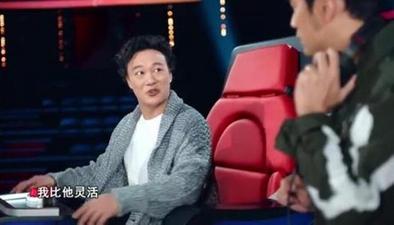 陳奕迅坐導師椅被嚇壞