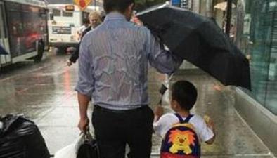 """照片被用于商業廣告 """"雨傘爸爸""""向商家發出律師函"""