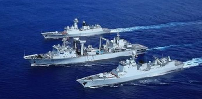 半年航行3萬海裏赴20國 中國遠航編隊完成訪問任務凱旋