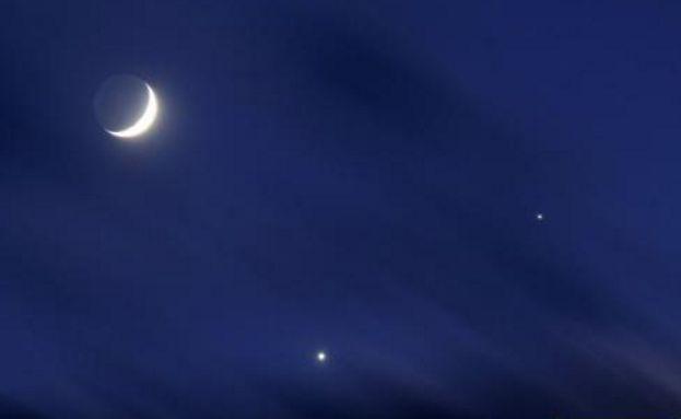 """全國各地均可見:明後天將上演""""雙星伴月"""""""