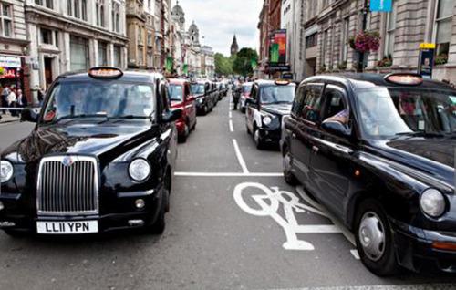 软件席卷伦敦 出租车司机策划抗议抵制