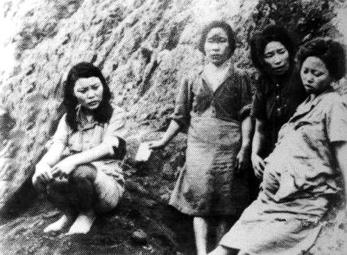 """籍""""慰安妇""""(历史照片).-桥下彻 跳梁小丑 成 国际流氓图片"""