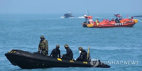 韩国重启沉船事故搜救工作 仍无新进展