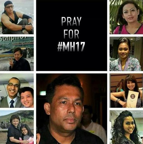 坠毁MH17航班机组人员照片曝光(组图)