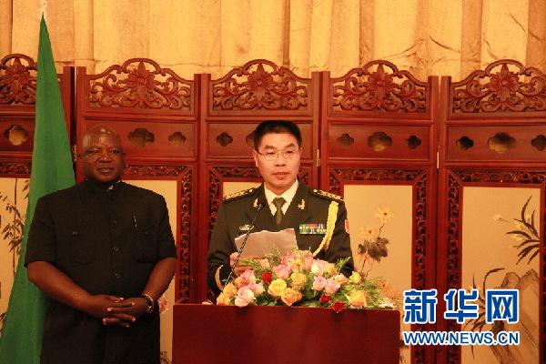 中国驻赞比亚使馆举办建军八十七周年招待会