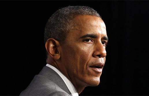 美国总统奥巴马,图片来源:经济学人网站-2014年7月国际新闻人物盘