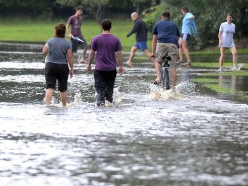 暴雨将降临纽约地区突发洪水或扰乱下班交通