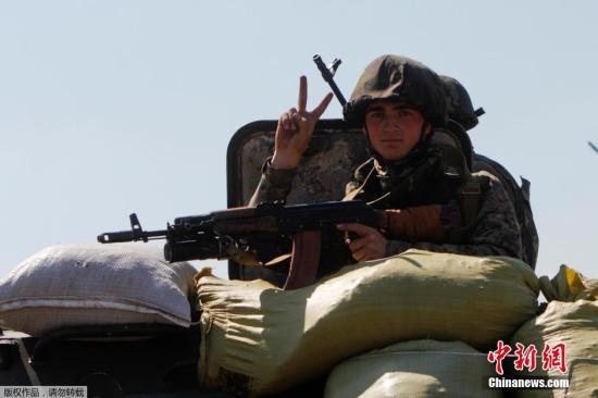 乌民间武装称已准备好大规模进攻 将战斗到底