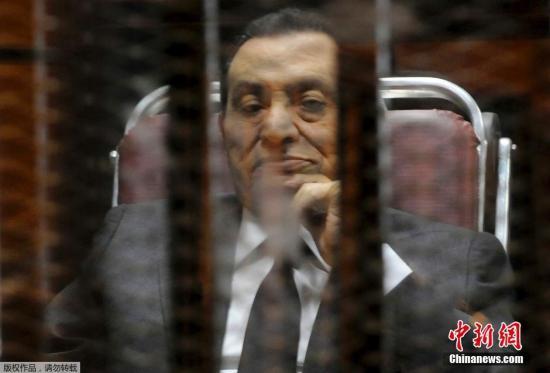 埃及法院审理穆巴拉克涉嫌谋杀一案 9月公布裁决