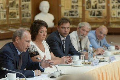 普京:克里米亚历史文化与俄罗斯紧密相连(图)