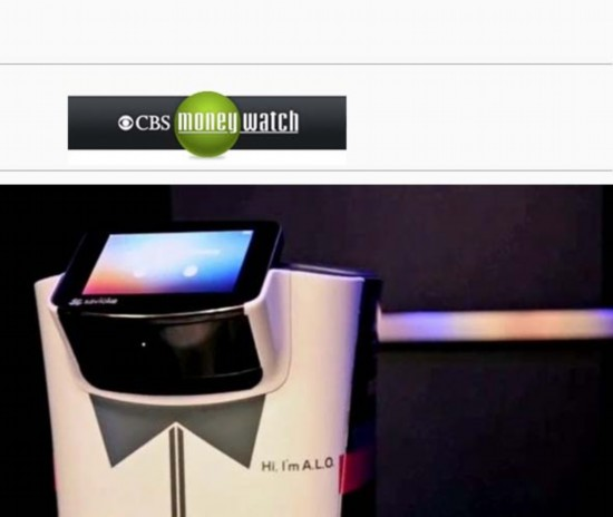 美国酒店推出机器人客房服务员