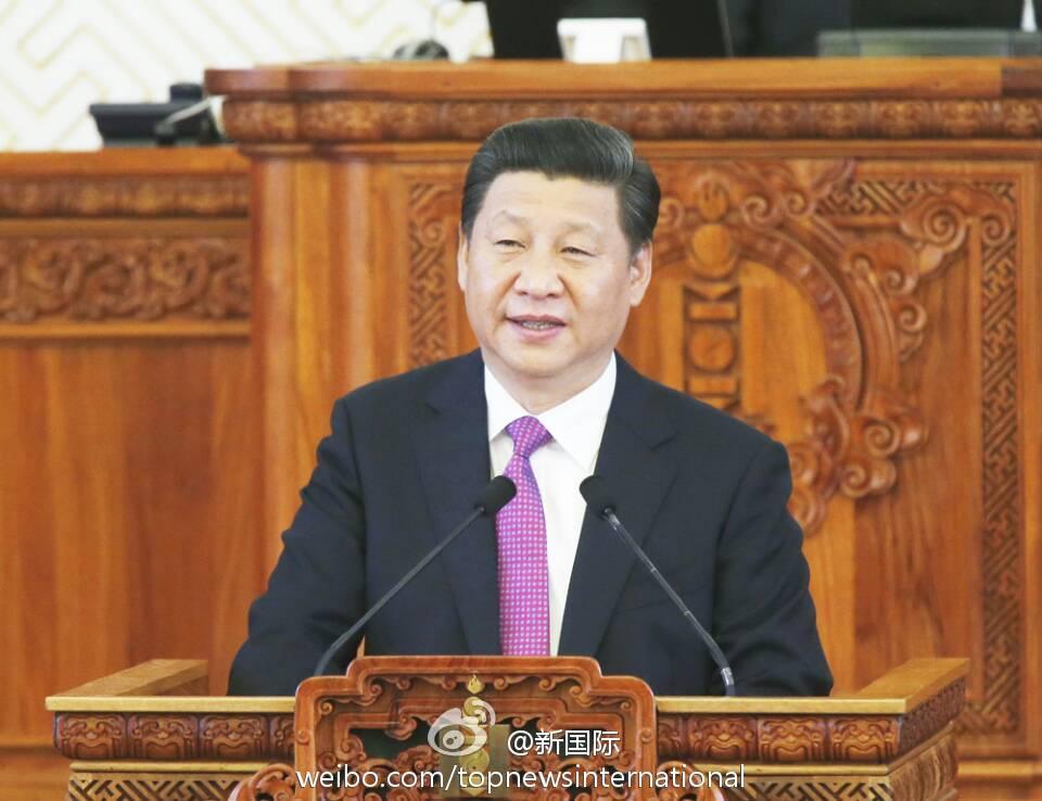 习近平:欢迎搭乘中国发展的列车