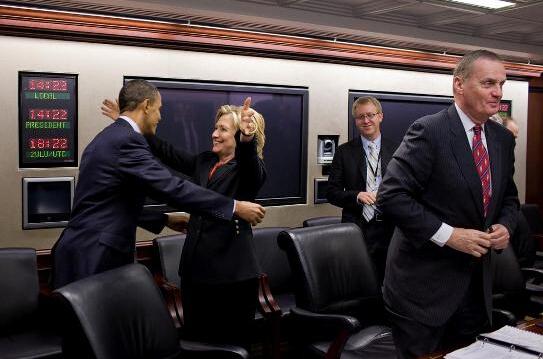 奥巴马与希拉里在白宫秘密会面 引外界瞩目
