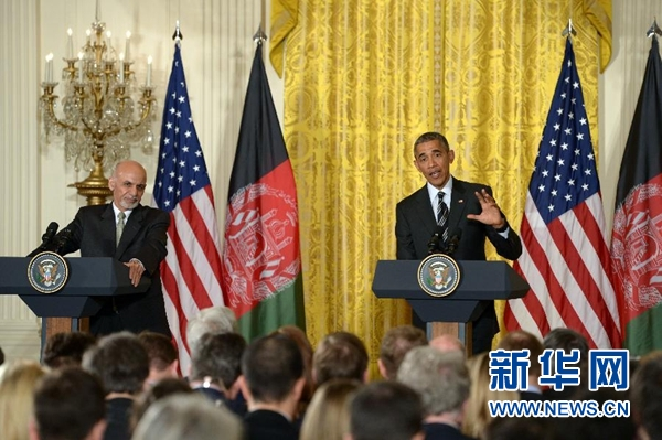 奥巴马宣布维持现有驻阿富汗美军规模至年底