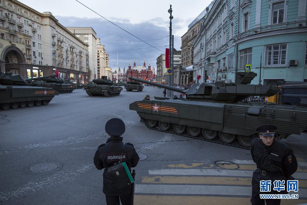 跟着大大走之俄罗斯篇俄罗斯举行红场阅兵夜间彩排 中国方阵亮相 - 新新 -