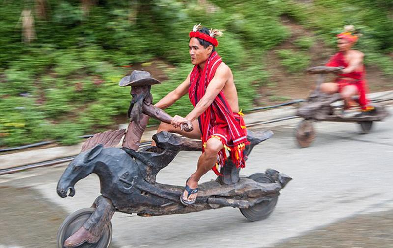 菲律宾木雕举行组图自行车公路赛(部族)s10-3c操作说明图片