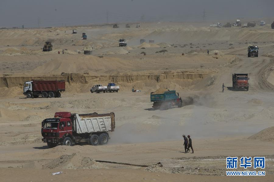 2014年8月5日,埃及宣布新运河计划,新苏伊士运河项目长度共计
