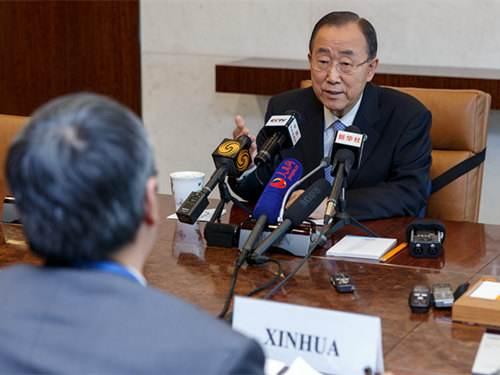 潘基文:中国对二战胜利贡献举世公认