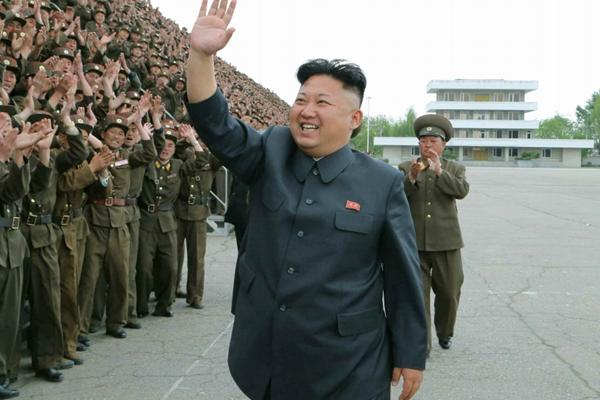 资料图:朝鲜最高领导人金正恩.-2015年8月国际新闻人物盘点 金正恩图片