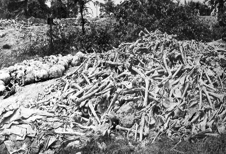 贝尔根·贝尔森集中营解放-那些震撼人心的历史照片 高清组图图片