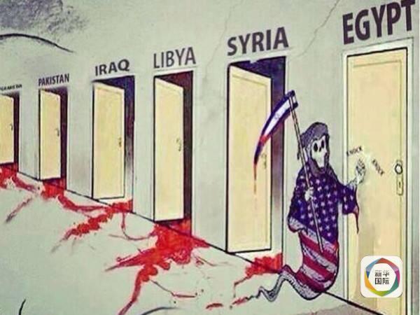 美国颜色革命害苦了西亚北非(组图)