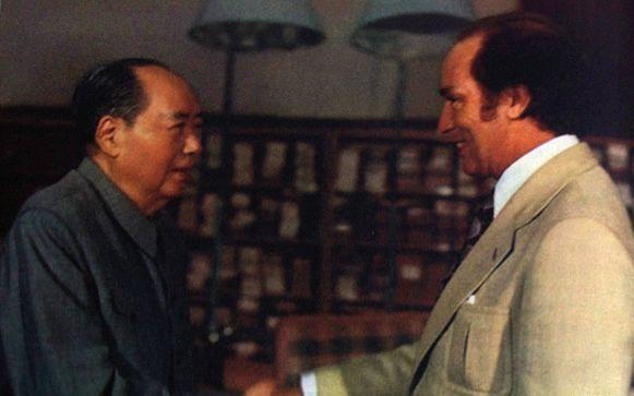 毛主席接见到访中国的加拿大总理特鲁多.-改朝换代 加拿大执政十