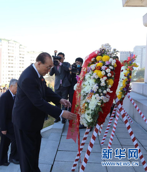 朝鲜隆重纪念中国人民志愿军赴朝作战65周年 - 小花新新 -