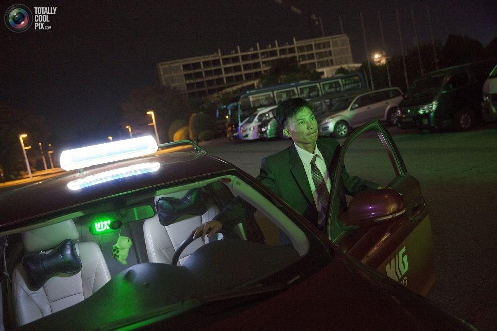 出租车司机.-朝鲜背后真实一面