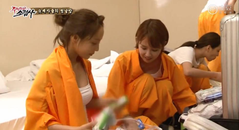 韩国众女星住进少林寺 素颜穿僧服入镜刻苦练