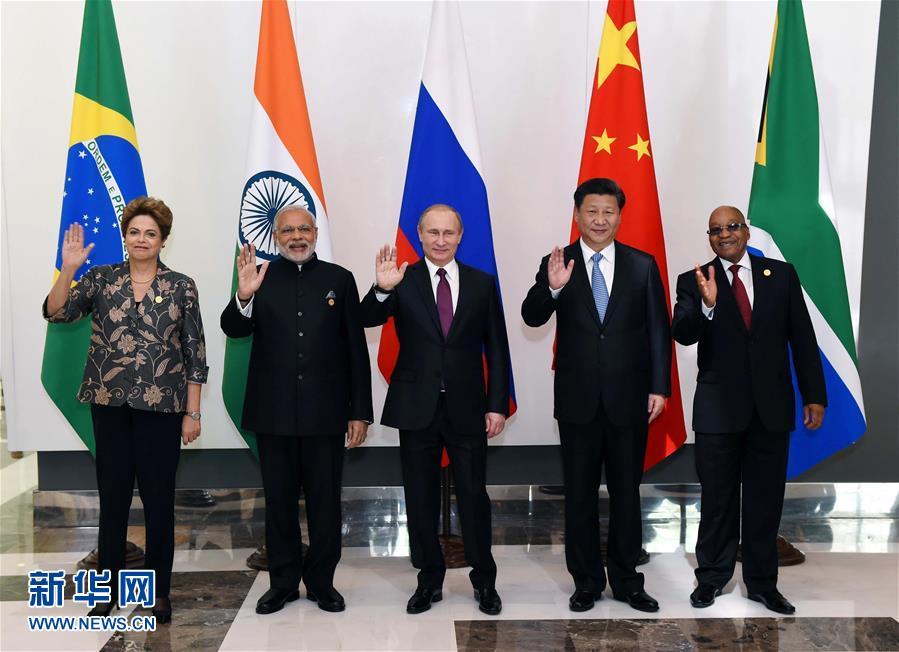 11月15日,金砖国家领导人非正式会晤在土耳其安塔利亚举行,中国国家主席习近平、俄罗斯总统普京、印度总理莫迪、南非总统祖马、巴西总统罗塞夫出席。新华社记者 饶爱民 摄