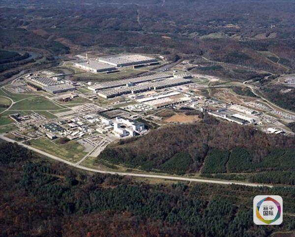 俯瞰汉福德核工厂.(图片来源:新华/美联)-美国 辐射污染最重 核武