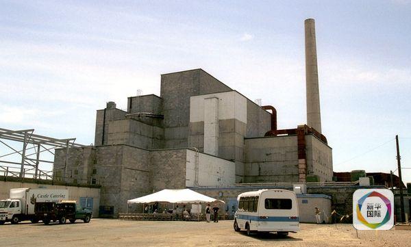 人们参观汉福德核工厂.(图片来源:新华/美联)-美国 辐射污染最重