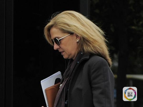 西班牙公主涉嫌逃税受审 丈夫挪用公款为奢华生活买单