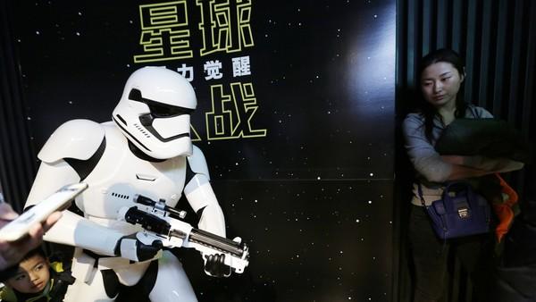 《星战7》3300万美元或打破中国票房首映纪录