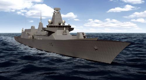 英国26型护卫舰首台燃气轮机完成工厂验收试验